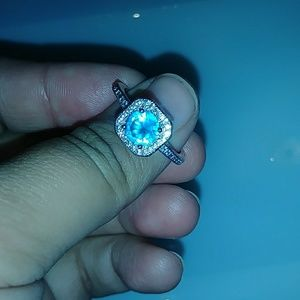 Topaz Ring (925 Sterling Silver)